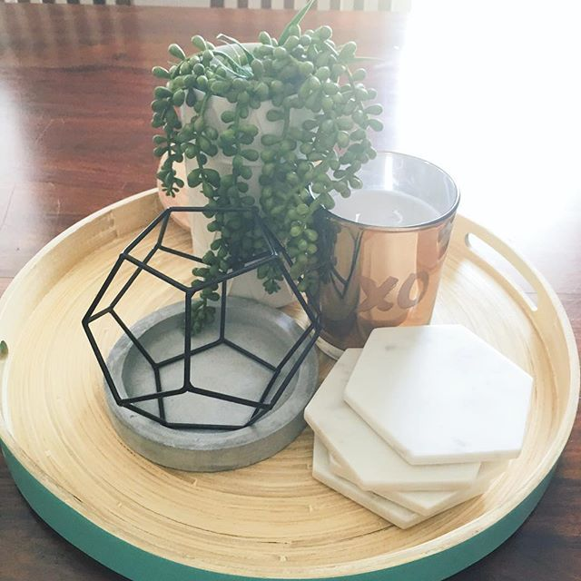 The New Kmart Hacks Round Three Coffee Table Centerpieces Kmart Home Kmart Decor