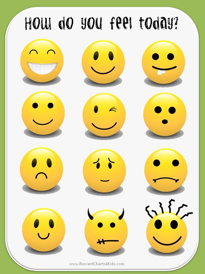 smile clipart emotions - Pesquisa Google | materiais pedagogicos ...