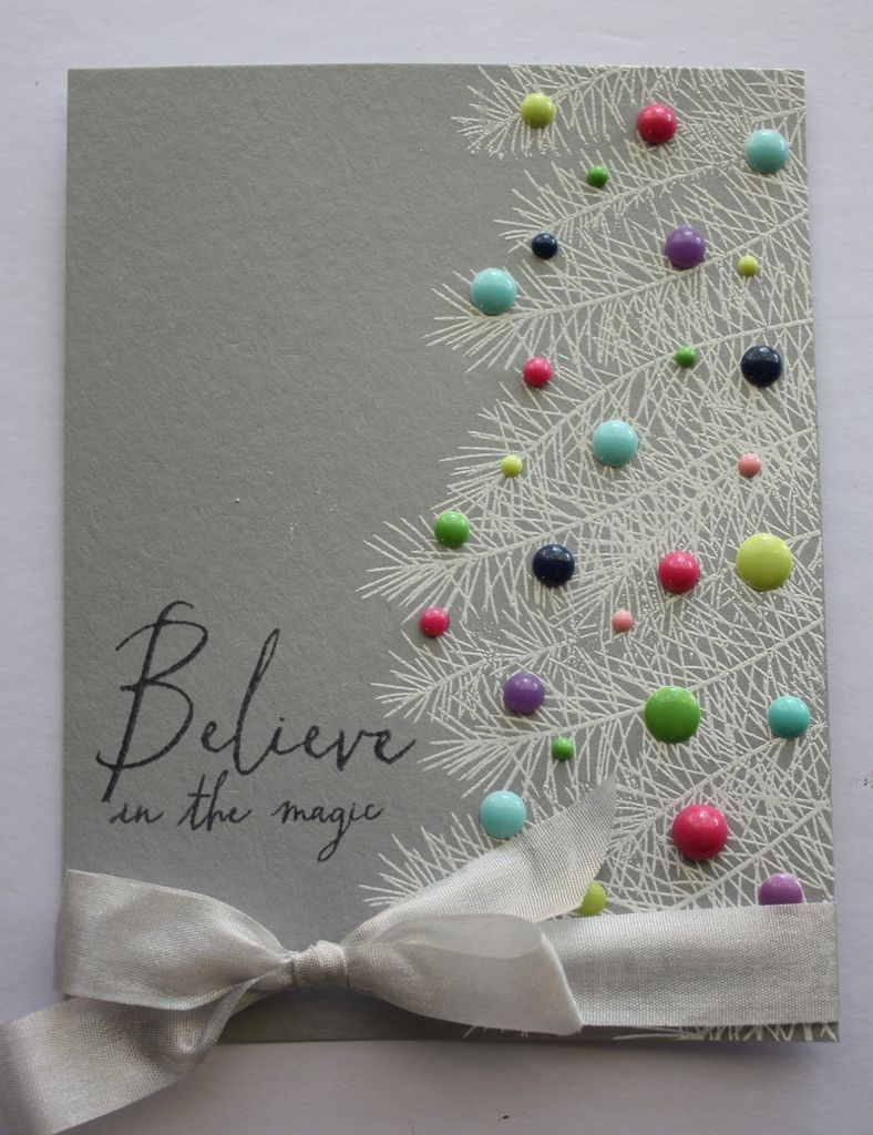 This Would Look Good With The Pine Bough Embossing Folder On A Card