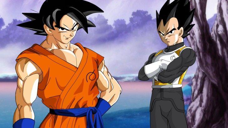 Son Goku And Vegeta Dragon Ball Super Wallpaper