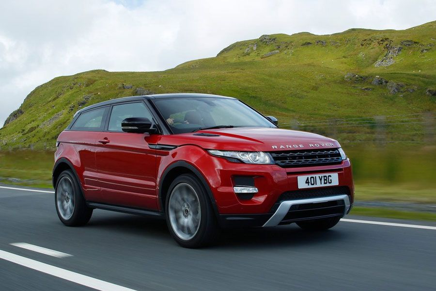 Land Rover Range Rover Evoque:  0 to 60 mph in 7.1 seconds. Top Speed of 135 mph. Est. price $43,995.00