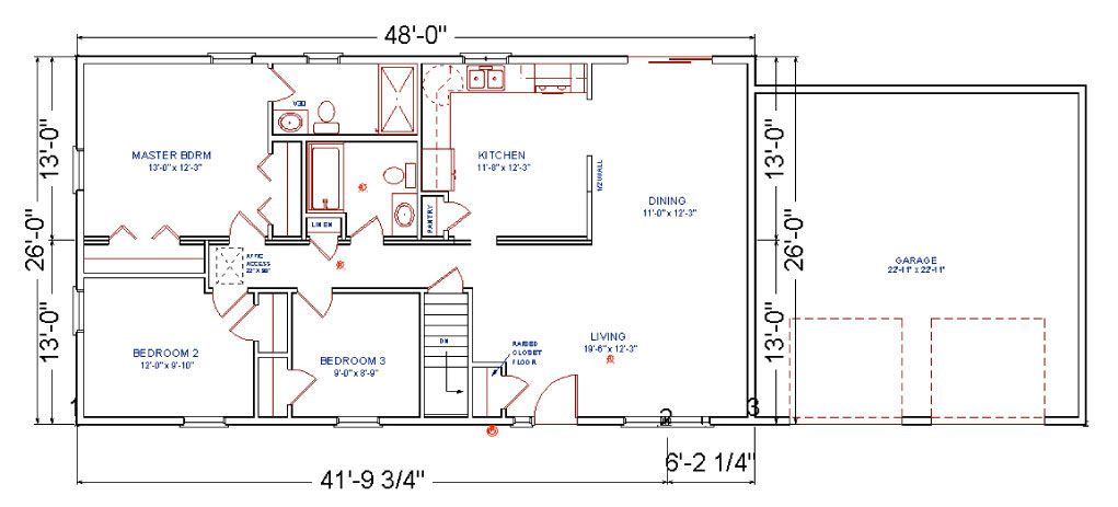 28 X 40 Floor Plans With Attached Garage Yahoo Image Search