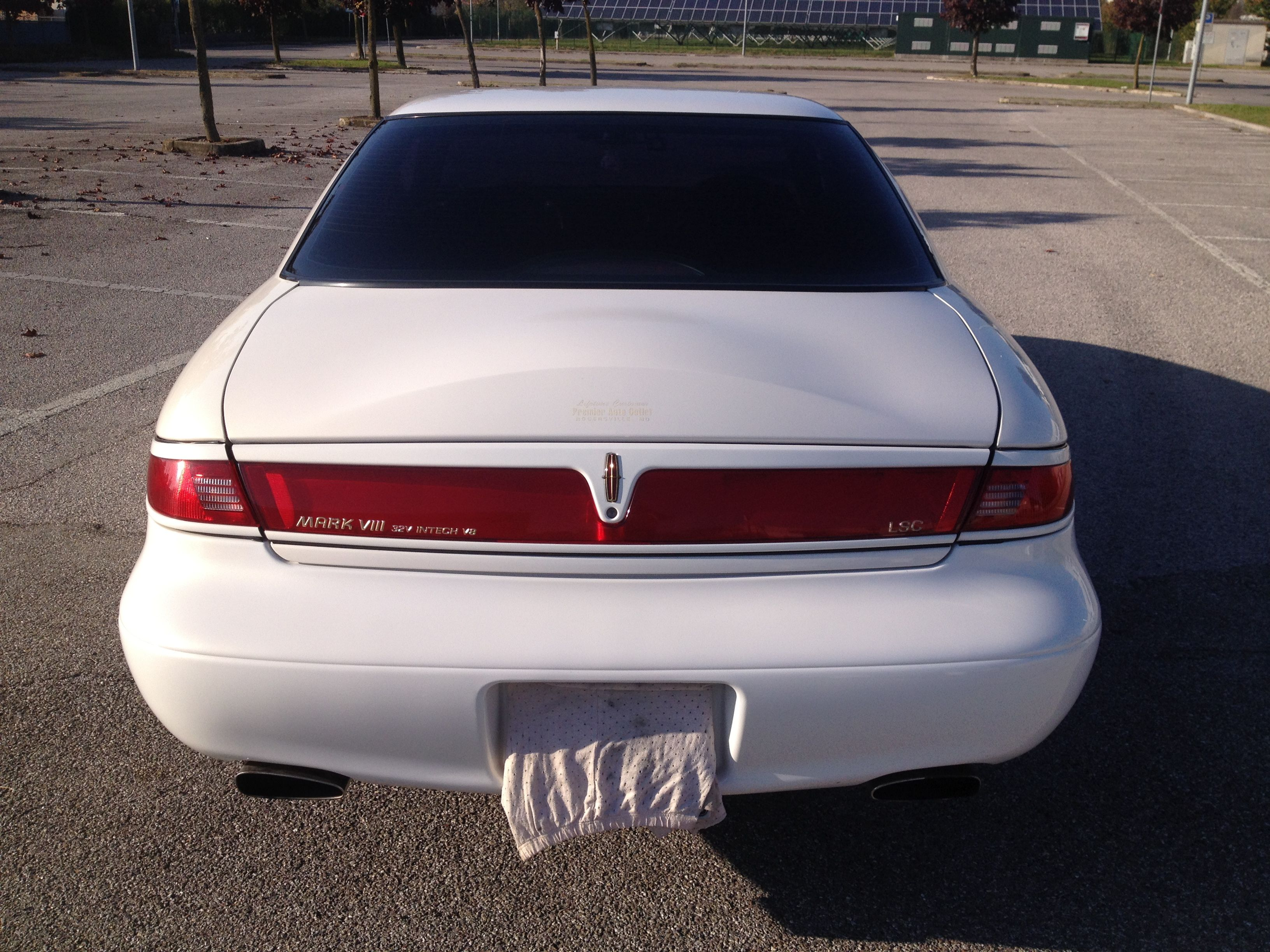 Lincoln mark viii collector s edition 1998 lincoln mark viii pinterest ford and cars
