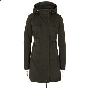 Parajumpers Womens Long Parka Jacket - Olive