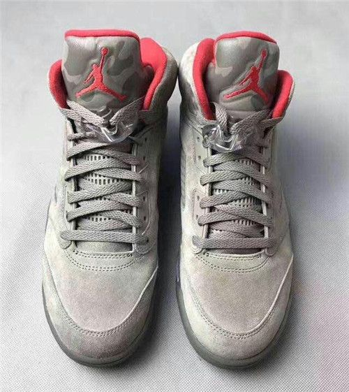 c62284082a1b0f 2018 Nike Air Jordan 5 Reflective Camo Dark Stucco University Red on  www.bestmax2018.com