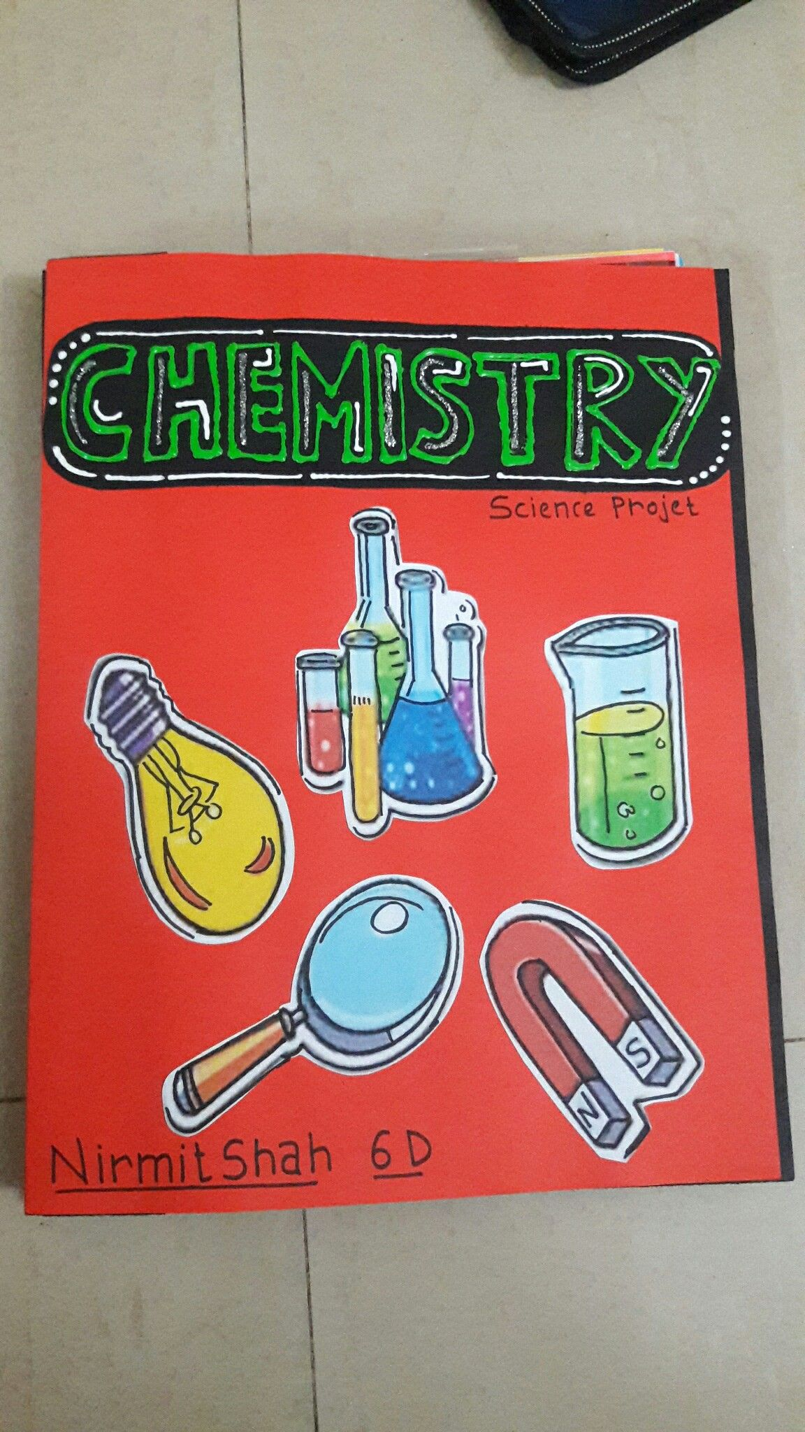 sciences coverpage | science, projects, school