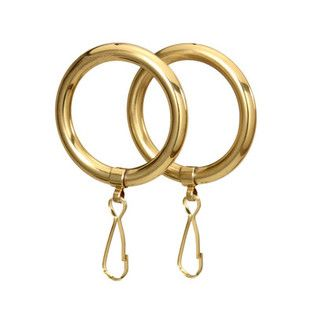 Brass Shower Curtain Rings