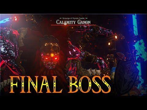 The Final Boss Calamity Ganon The Legend Of Zelda Breath