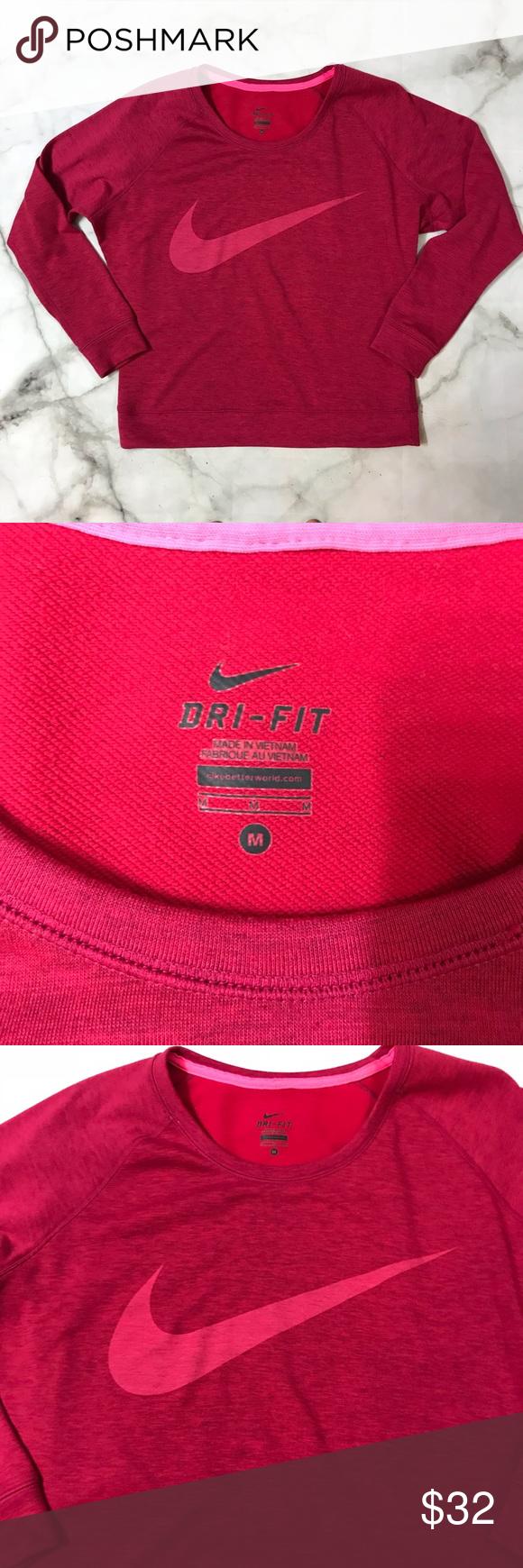 Nike Dri Fit Crewneck Sweatshirt Crew Neck Sweatshirt Sweatshirts Colorful Sweatshirt [ 1740 x 580 Pixel ]