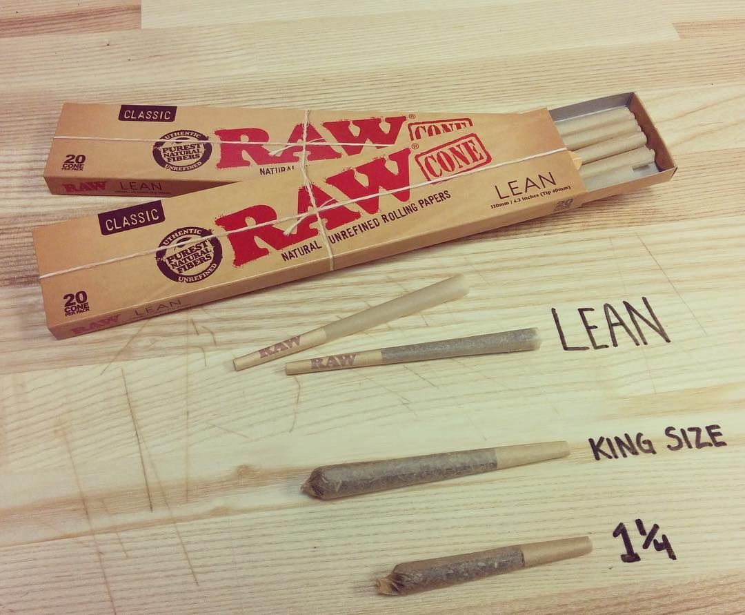 Founder Of Raw Rolling Papers On Instagram Introducing The New Raw Lean 20 Pack Cones They Re Slim Cones That Are Perfect For S Raw Papers Rolling Paper Raw