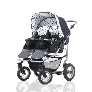 Mikado Duet Twin Pram | Designed For Twins | Pinterest | Products ...