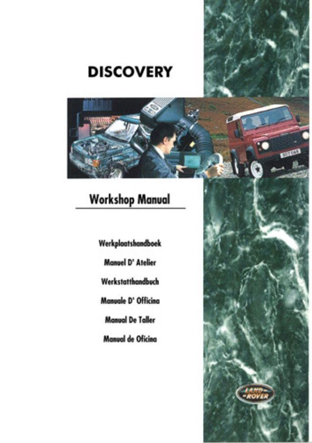 land rover discovery manual de taller apology pinterest rh pinterest co uk manual de land rover evoque manual del conductor land rover discovery