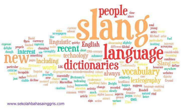 101 Contoh Kata Kata Bahasa Inggris Gaul Slang Language Artinya