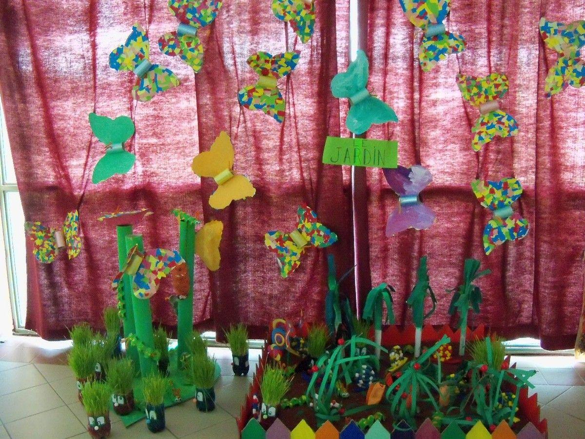 Le jardin arts visuels maternelle pinterest tags et for Le jardin voyageur maternelle