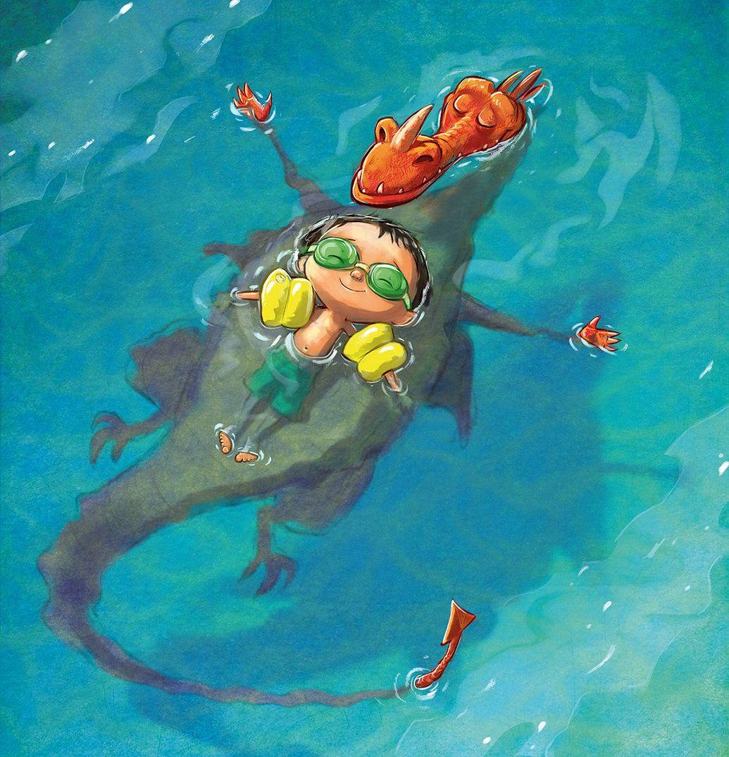 Смешные рисунки плавание, смешной жопы