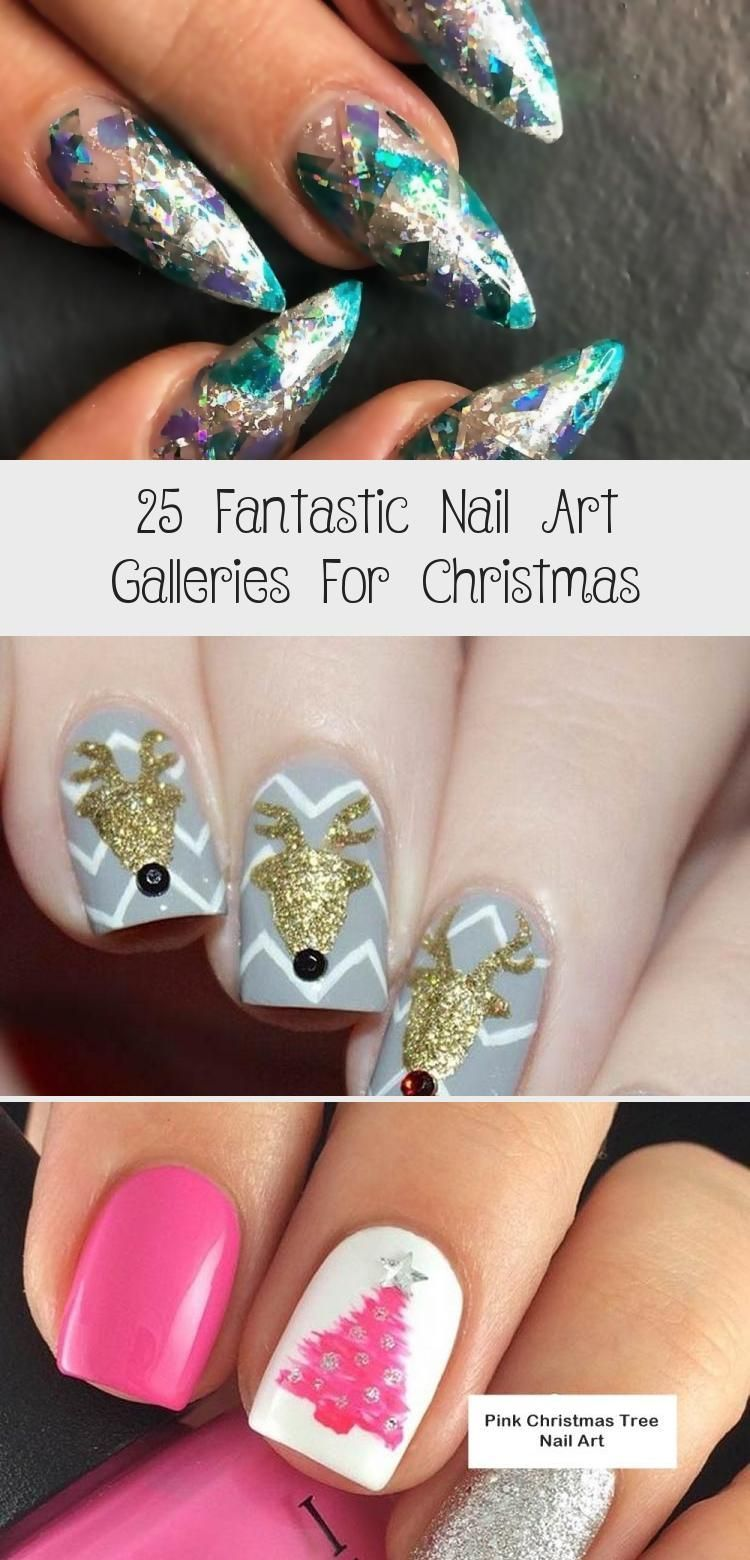 Photo of 25 Fantastic Nail Art Galleries for Christmas – Wass Sell #NailArtGalleriesAweso…