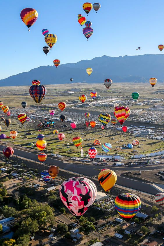 Albuquerque International Balloon Fiesta 2021 in New