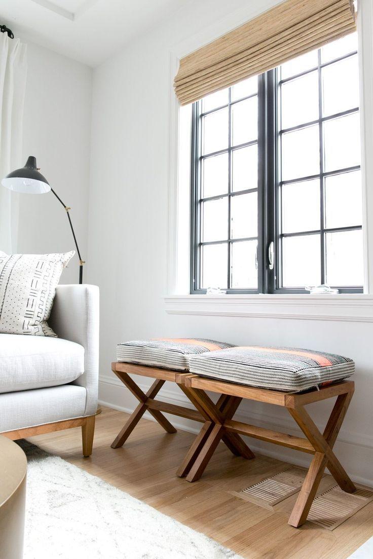 Denver Tudor Reveal   Pinterest   Black windows, White couches and ...