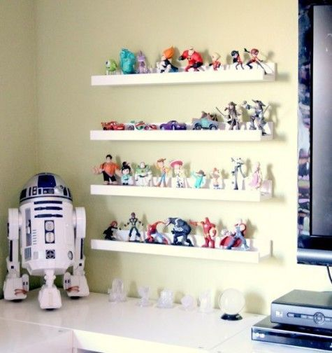 30 Creative Ways To Use Ikea Ribba Ledges At Home Disney Home Decor Disney Rooms