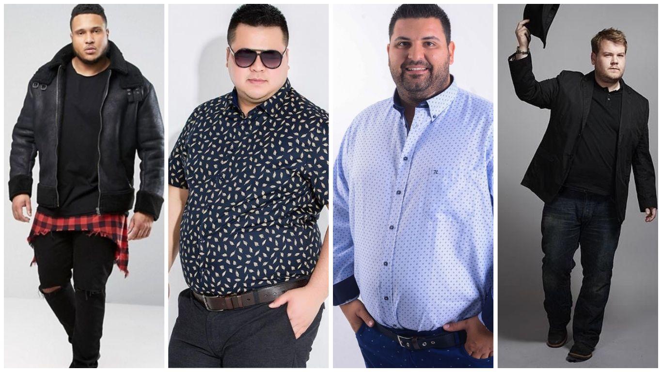 Outfits Para Hombres Gordos Como Vestir Bien En Tallas Xl Hombres Gorditos Moda Para Hombres Grandes Outfits Hombre