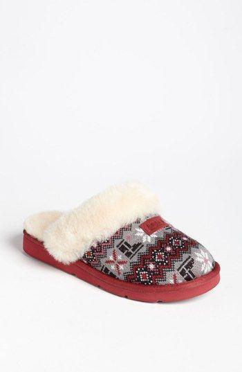 b92bc65d189 UGG® Australia 'Cozy Nordic Knit' Slipper (Women) | Shoes in 2019 ...