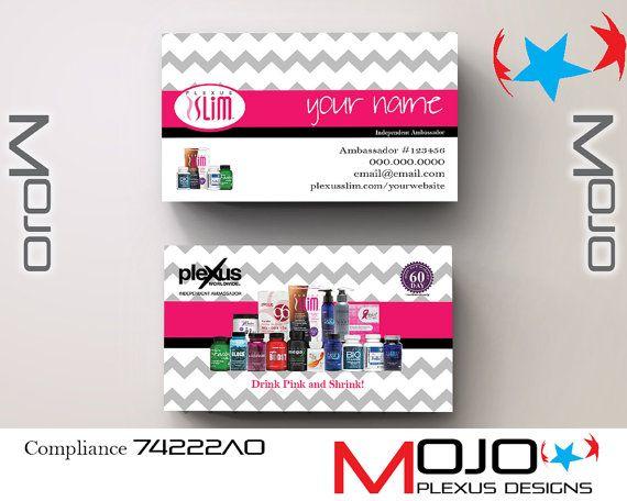 Personalized plexus business cards plexus designs by mojo personalized plexus business cards plexus designs by mojo grey chevrontext messagesbusiness colourmoves