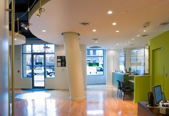 Bank Of Georgetown by Core Architecture, Washington, DC » Retail Design. Visit City Lighting Products! https://www.linkedin.com/company/city-lighting-products