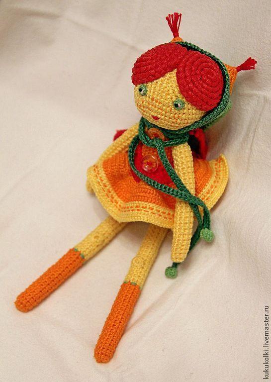 Солнечная Белочка - кукла ручной работы,кукла интерьерная,игрушка ручной работы