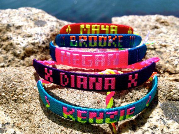 Mexican Name Bracelets Bracelet Diy Names Patterns Multicultural