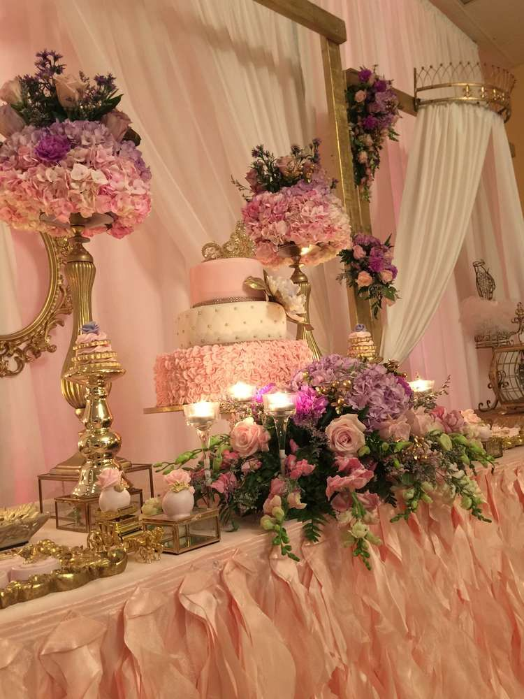 Princess garden baby shower party ideas in 2019 kayla 39 s - Decoration baby shower girl ...