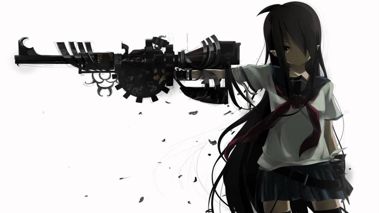 Anime girl gun girl anime sniper anime otaku - Anime sniper girl ...