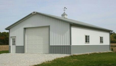 Post Frame Pole Building And Barn Garage Photo Images Designs