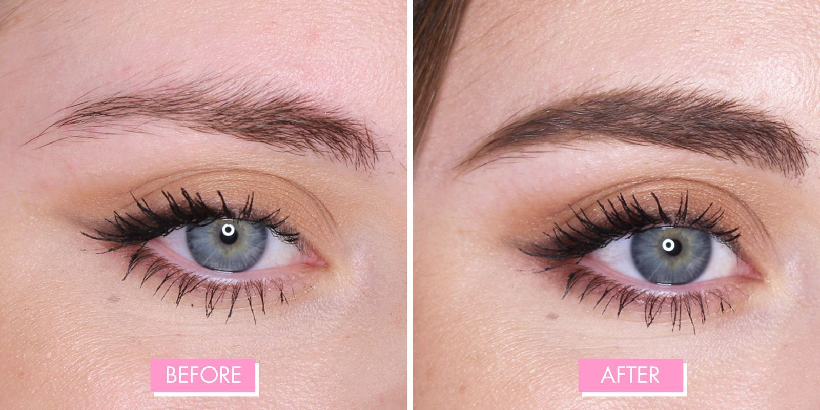 Here's what 11 of the best eyebrow products look like IRL