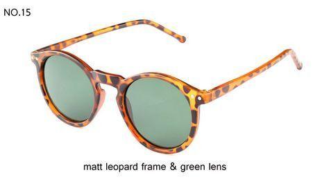 Multicolor Round Sunglasses
