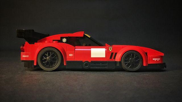 Ferrari 550 Maranello Gtc Side Lego Cars Lego Cars Instructions Lego Technic