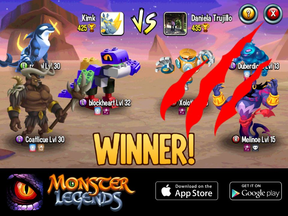Pin by mohammad ewais on monster legends challenge me