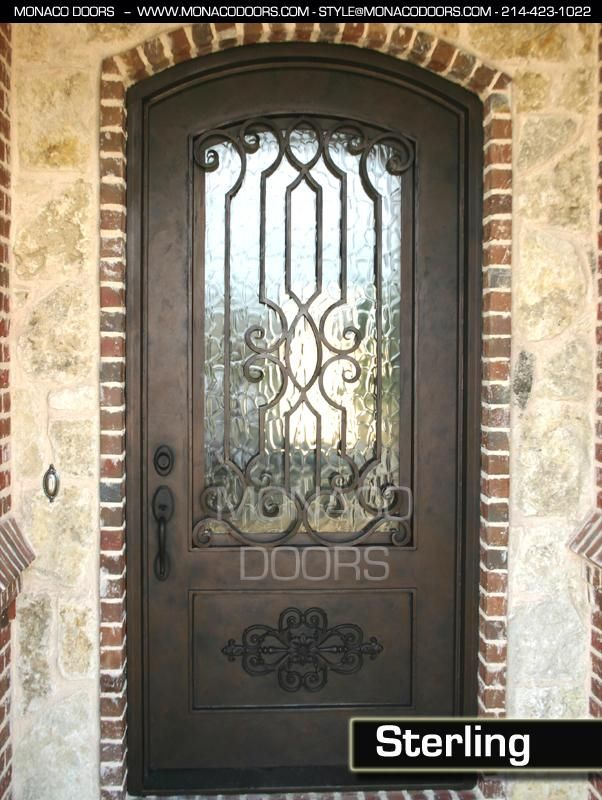 Iron Doors Design Inspiration Decorating Design