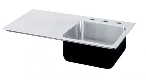 Kitchen Sink With Side Drain Board Kitchen Furnitures Pinterest