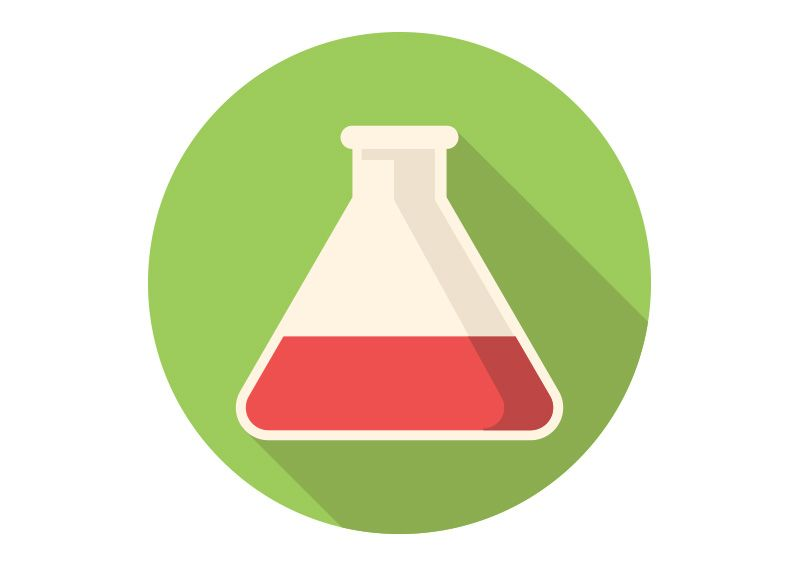 Test Tube Free Flat Vector Icon | http://superawesomevectors.com ...