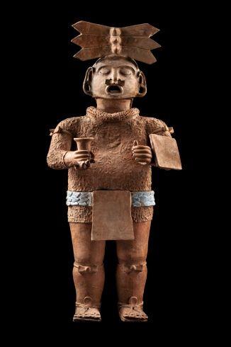 Escultura Xipe-Tótec - Museo Nacional de Antropología
