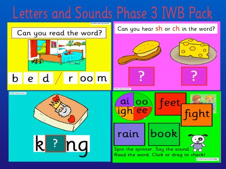 letters and sounds phase 3 iwb family child care