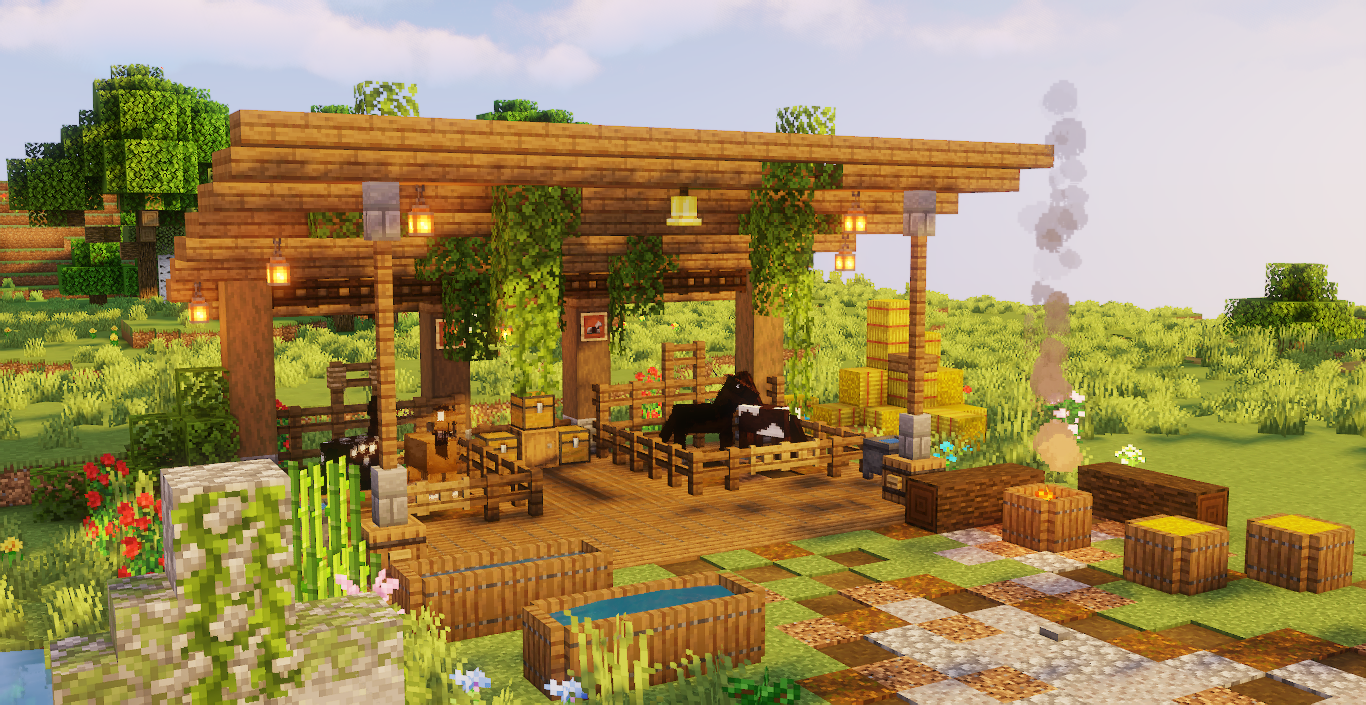 Pin By Zanahoria Sempai On Minecraft In 2020 Minecraft Farm Minecraft Construction Minecraft Shops Browse the largest collection of minecraft maps! pinterest