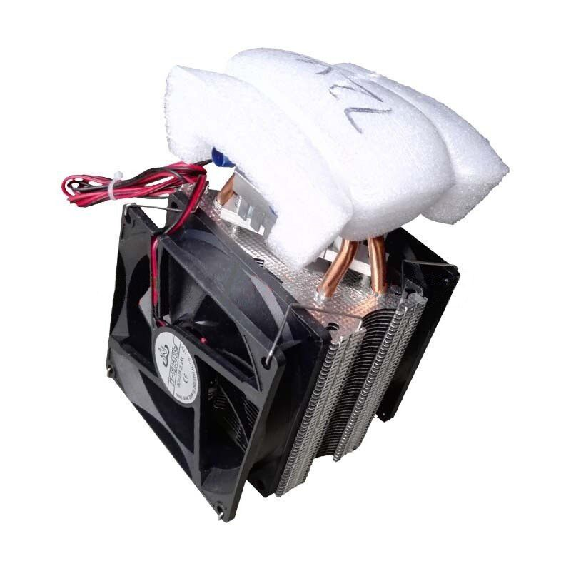 Thermoelectric Peltier Refrigeration Diy Water Cooling System