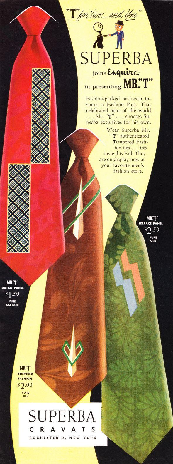 Superba Neckties