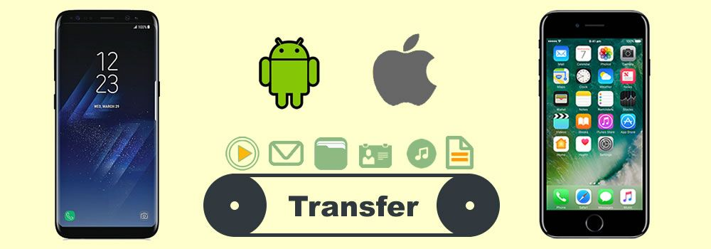 How to transfer data from Android to iPhone Iphone