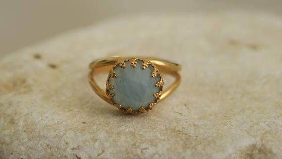 Ring Design Unique Rings Big Stone Ring Cocktail Ring Gold Big Stone Ring Ring Designs Aquamarine Stone Ring