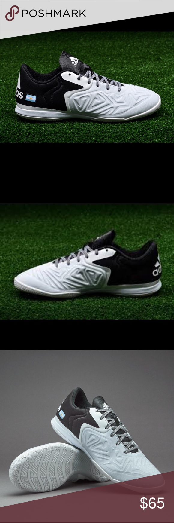 Adidas X15.2 Sala CT Indoor Soccer Shoes Size 11 *PLEASE READ ENTIRE DESCRIPTION AND VIEW ALL PICTURES BEFORE PLACING YOUR BID. THANK YOU.   *100% AUTHENTIC AND SATISFACTION GUARANTEED! NO FAKES! NO VARIANTS!   *PET AND SMOKE-FREE HOUSE!  *SERIOUS BUYERS ONLY PLEASE!   *MESSAGE ME ANY QUESTIONS YOU MAY HAVE.   *SAVE ME AS A FAVORITE SELLER!!! CHECK MY OTHER LISTINGS! Adidas Shoes Athletic Shoes