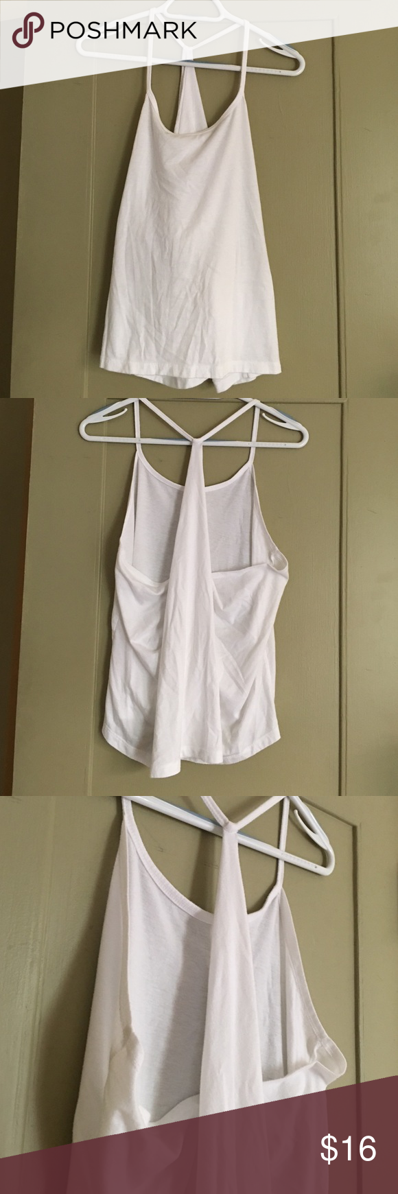 Fabletics Neema Tank Cute tank from Fabletics. In excellent condition. Also available in black. Check out all my listings. Fabletics Tops Tank Tops