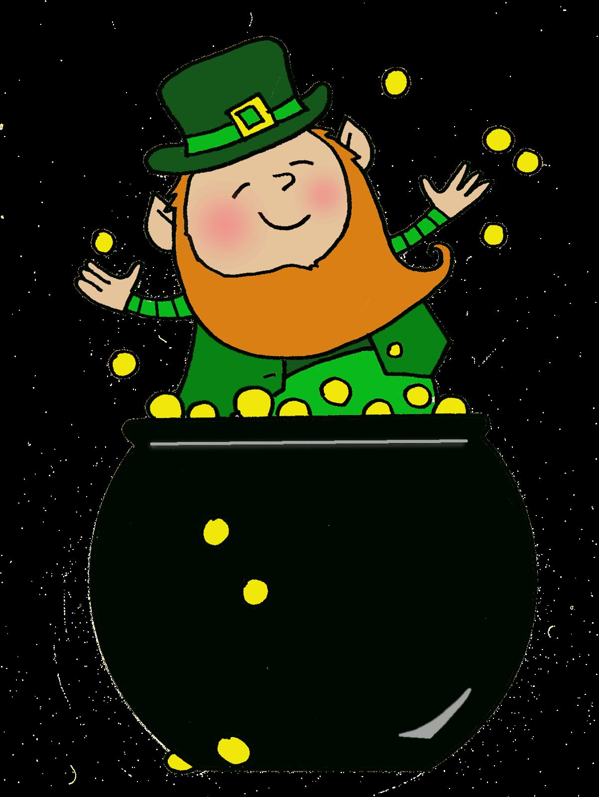 pot of gold leprechaun png 1203 1600 clip art gifs 4 rh pinterest com