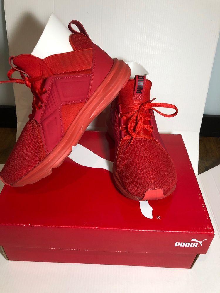 PUMA red 19018901 Kids Enzo Jr Sneaker